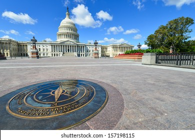 US Capitol Building in Washington DC, United States - East facade