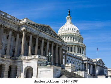 US Capitol Building in Washington, D.C., the seat of the United States Congress.