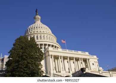 US Capitol Building, in Washington DC, United States Of America