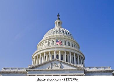 US Capitol dome,  Washington DC USA