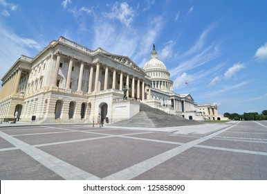 US Capitol Hill east facade - Washington DC, United States