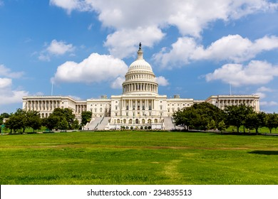 US Capitol, one of the most recognizable historic buildings in Washington DC