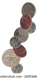 US Coins Falling