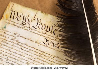 US Constitution, Patriotism, American Culture.
