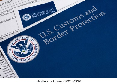 Us customs border protection form fill stock photo royalty free us customs and border protection form to fill out altavistaventures Gallery