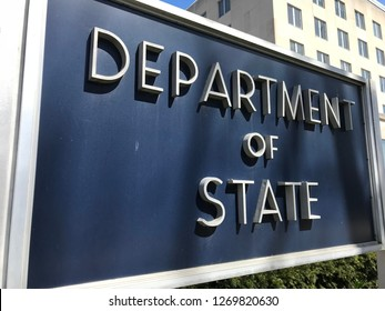 US Department of State Exterior&Sign