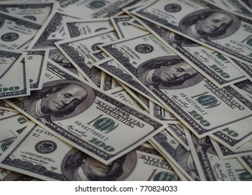 The Us Dollar background,banknote for investment.