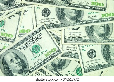 US dollar bank note background.
