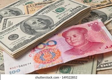 US dollar and CNY