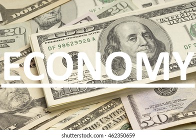 US Dollars with Economy written on it