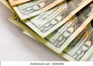 us dollars money
