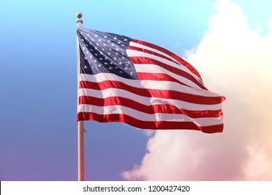 US flag - national symbol.