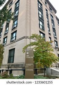 U.S. General Services Administration Headquarters Building, Washington D.C., November 18, 2018.