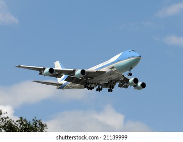 US government presidential and VIP transport airplane