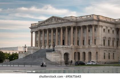 US House of Representatives at Dusk
