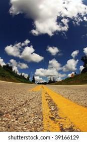 US interstate road