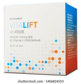 US Manufacturing Vitamin Health Food Package