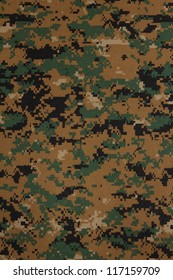 US marine force marpat digital camouflage fabric texture background
