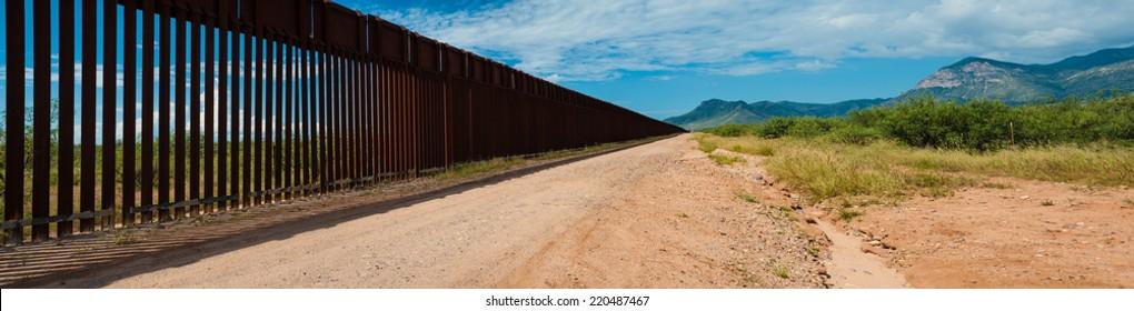 US Mexican Border in Arizona