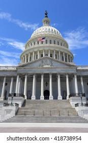 US National Capitol - landmark in Washington D.C.