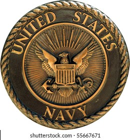 US Navy commemorative plaque