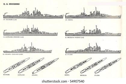 US Navy Cruisers of World War II