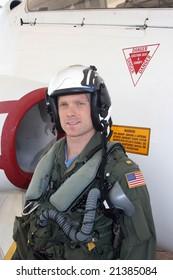 U.S. Navy fighter pilot