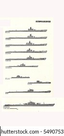 US Navy Submarines of World War II