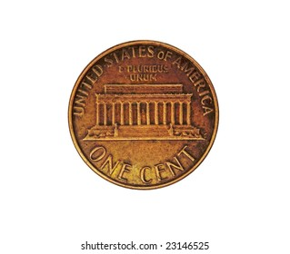 US one cent - penny