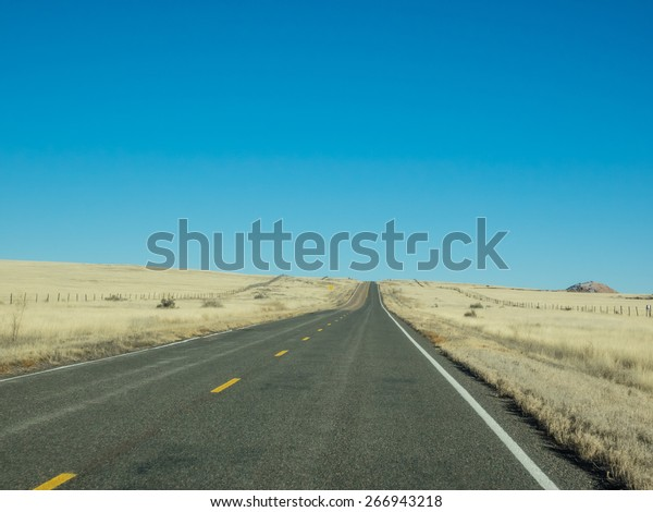 Us Route 60 United States Highway Stock Photo Edit Now 266943218