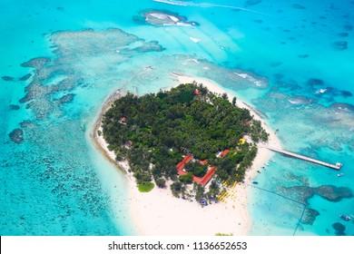 U.S. Saipan travel vacation drone overshoot warship island scenery