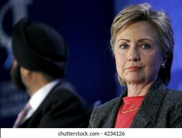 US Senator Hillary Rodham Clinton l
