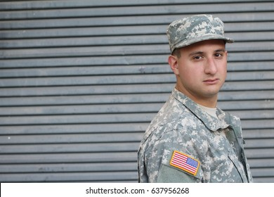 US Soldier With PTSD