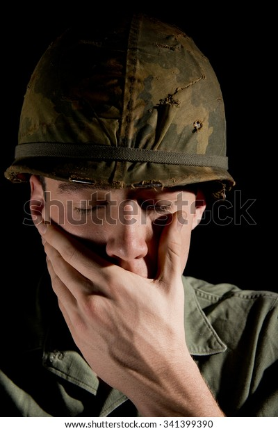 U.S. Soldier With PTSD