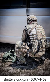 US Soldier With PTSD  ,  us military soldier