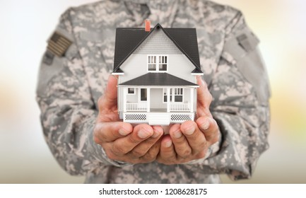 US Soldier with real estate