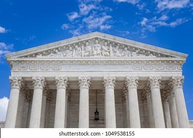 US Supreme Court building exterior in Washington, DC