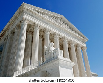 The U.S. Supreme Court building in Washington, D.C., Thursday, March 23, 2017. Credit: Blake Pembroke/Shutterstock