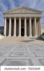 US Supreme Court Building in Washington DC