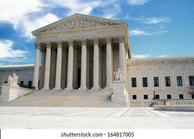 The US Supreme Court in Washington DC