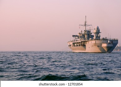 US Warship in Foreign Waters