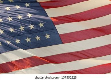 Usa American flag stars and stripes