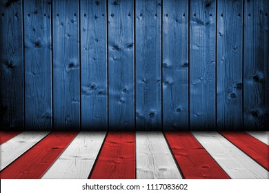 USA background perspective view