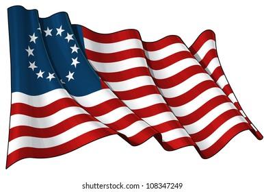USA Betsy Ross flag
