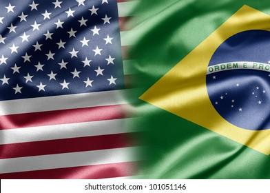 USA and Brazil