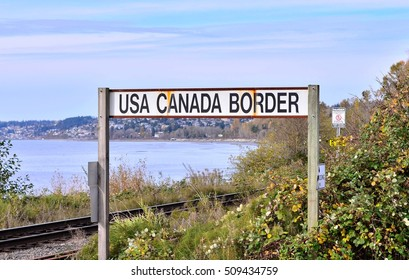 USA & Canada Border Post
