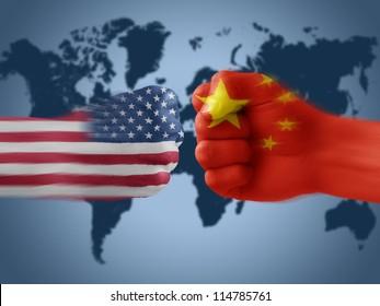 USA & China - disagreement. trade war. america. china