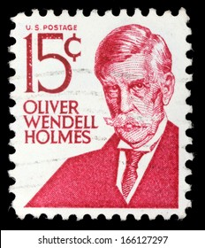 USA - CIRCA 1979: A stamp printed in the USA, shows Oliver Wendell Holmes, Jr., circa 1979