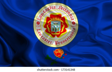 USA City Flags: Lancaster