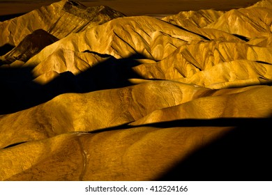 USA. Death Valley. Sunset. Colors